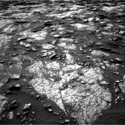 Nasa's Mars rover Curiosity acquired this image using its Right Navigation Camera on Sol 1480, at drive 1086, site number 58