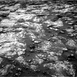 Nasa's Mars rover Curiosity acquired this image using its Right Navigation Camera on Sol 1480, at drive 1098, site number 58