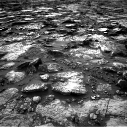 Nasa's Mars rover Curiosity acquired this image using its Right Navigation Camera on Sol 1480, at drive 1170, site number 58