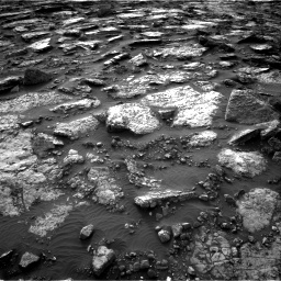 Nasa's Mars rover Curiosity acquired this image using its Right Navigation Camera on Sol 1480, at drive 1182, site number 58