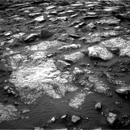 Nasa's Mars rover Curiosity acquired this image using its Right Navigation Camera on Sol 1480, at drive 1188, site number 58