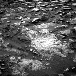 Nasa's Mars rover Curiosity acquired this image using its Right Navigation Camera on Sol 1480, at drive 1194, site number 58