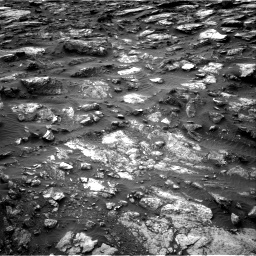 NASA's Mars rover Curiosity acquired this image using its Right Navigation Cameras (Navcams) on Sol 1480