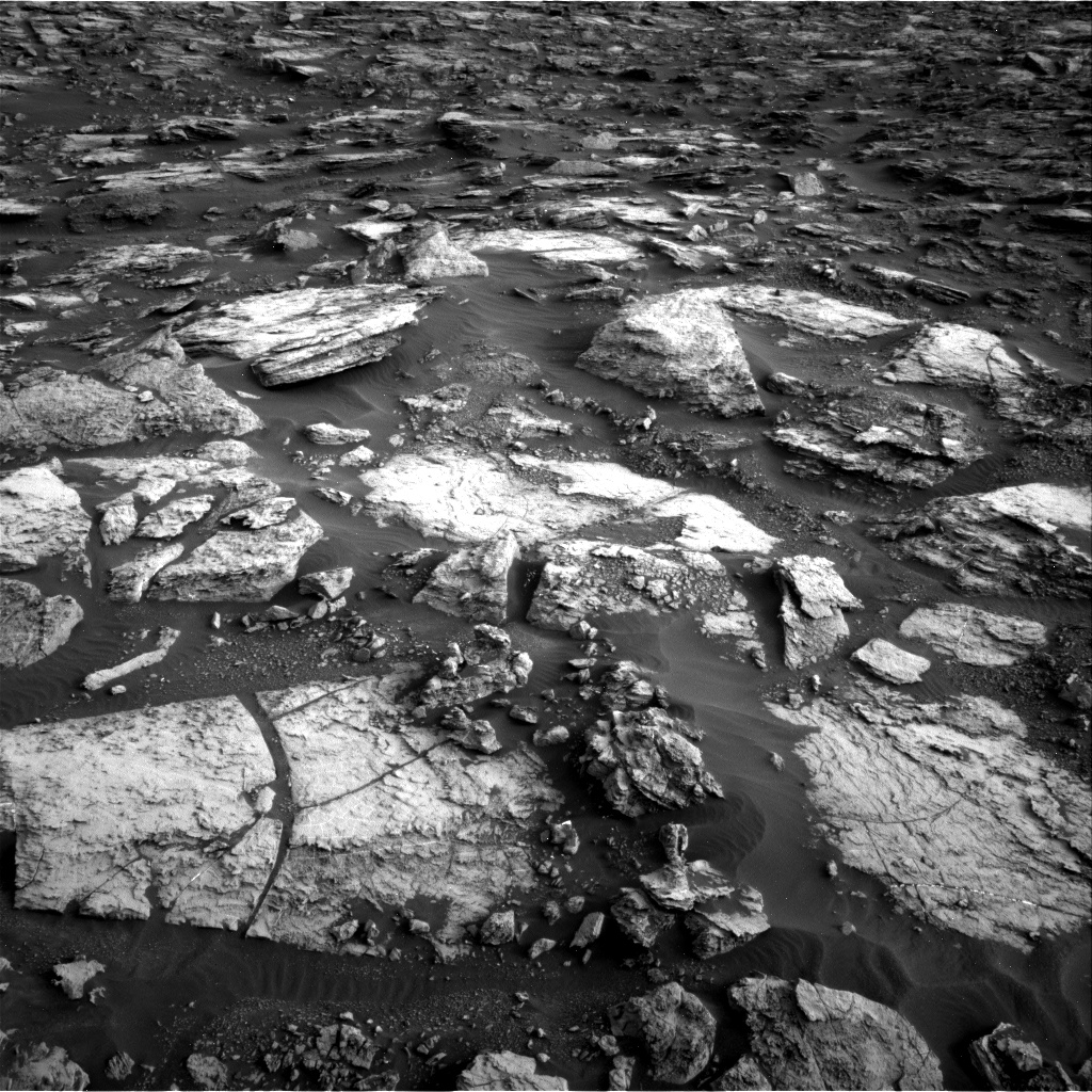 Nasa's Mars rover Curiosity acquired this image using its Right Navigation Camera on Sol 1480, at drive 1212, site number 58