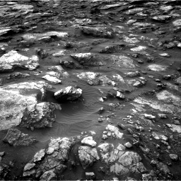 Nasa's Mars rover Curiosity acquired this image using its Right Navigation Camera on Sol 1480, at drive 1224, site number 58