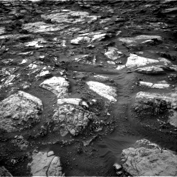 Nasa's Mars rover Curiosity acquired this image using its Right Navigation Camera on Sol 1480, at drive 1242, site number 58