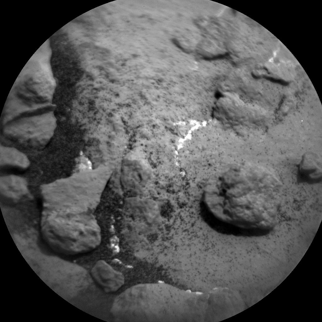 Nasa's Mars rover Curiosity acquired this image using its Chemistry & Camera (ChemCam) on Sol 1480, at drive 1002, site number 58