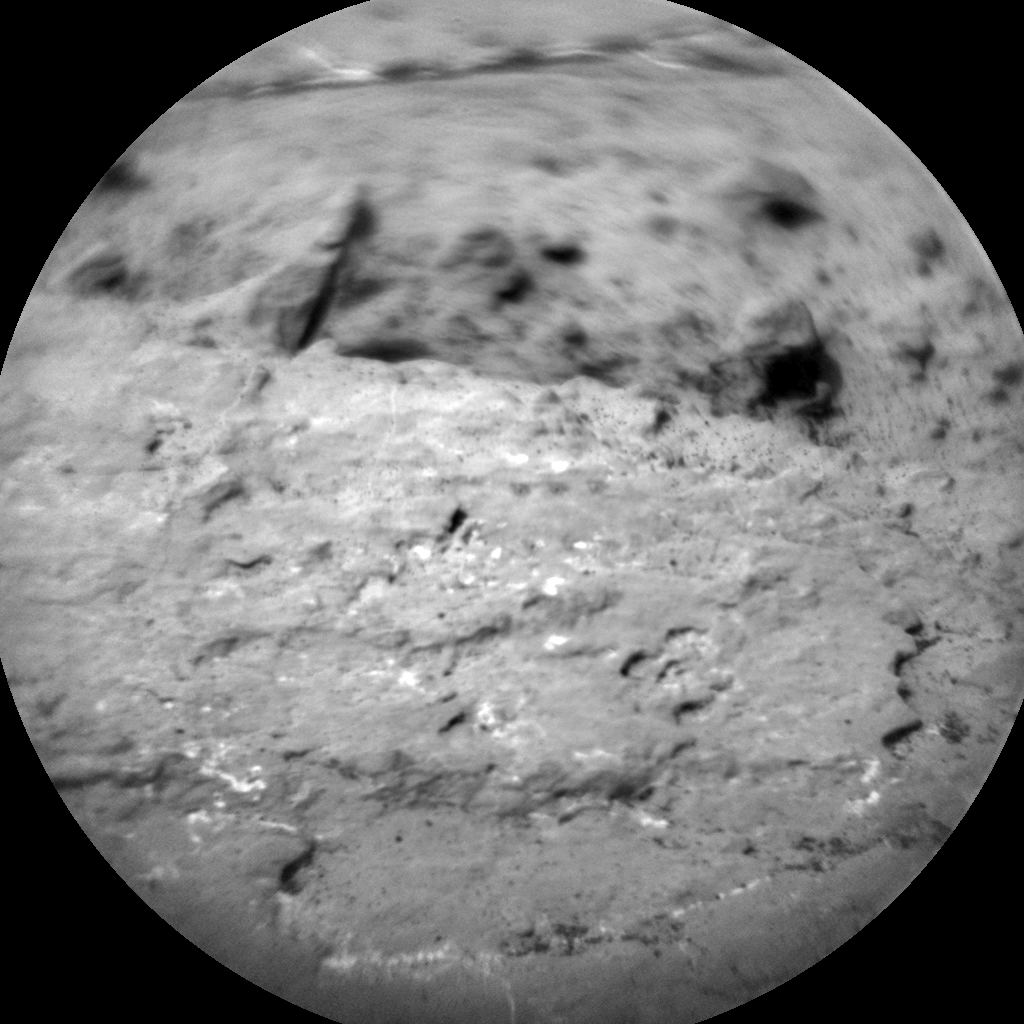 Nasa's Mars rover Curiosity acquired this image using its Chemistry & Camera (ChemCam) on Sol 1481, at drive 1248, site number 58