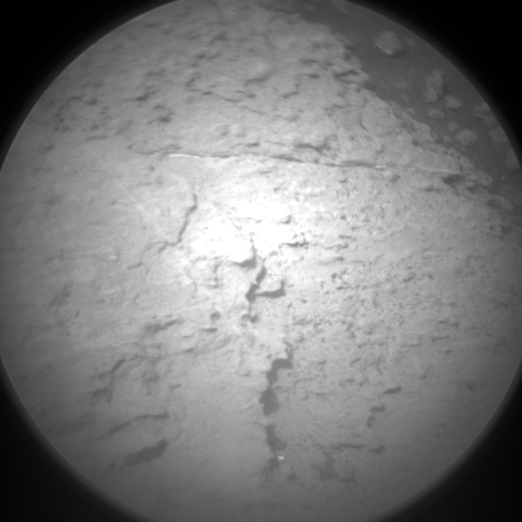 Nasa's Mars rover Curiosity acquired this image using its Chemistry & Camera (ChemCam) on Sol 1482, at drive 1248, site number 58
