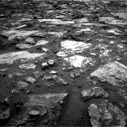 Nasa's Mars rover Curiosity acquired this image using its Left Navigation Camera on Sol 1482, at drive 1260, site number 58