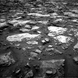 Nasa's Mars rover Curiosity acquired this image using its Left Navigation Camera on Sol 1482, at drive 1266, site number 58