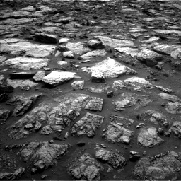 Nasa's Mars rover Curiosity acquired this image using its Left Navigation Camera on Sol 1482, at drive 1290, site number 58