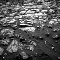 Nasa's Mars rover Curiosity acquired this image using its Left Navigation Camera on Sol 1482, at drive 1332, site number 58