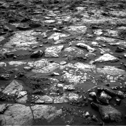 Nasa's Mars rover Curiosity acquired this image using its Left Navigation Camera on Sol 1482, at drive 1422, site number 58