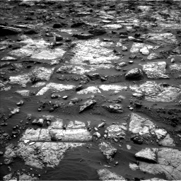NASA's Mars rover Curiosity acquired this image using its Left Navigation Camera (Navcams) on Sol 1482
