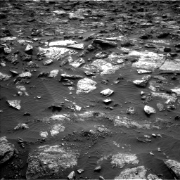 Nasa's Mars rover Curiosity acquired this image using its Left Navigation Camera on Sol 1482, at drive 1458, site number 58