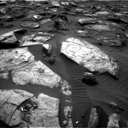 Nasa's Mars rover Curiosity acquired this image using its Left Navigation Camera on Sol 1482, at drive 1488, site number 58