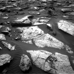 Nasa's Mars rover Curiosity acquired this image using its Left Navigation Camera on Sol 1482, at drive 1494, site number 58