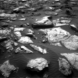 Nasa's Mars rover Curiosity acquired this image using its Left Navigation Camera on Sol 1482, at drive 1500, site number 58