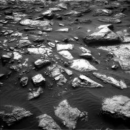 Nasa's Mars rover Curiosity acquired this image using its Left Navigation Camera on Sol 1482, at drive 1506, site number 58