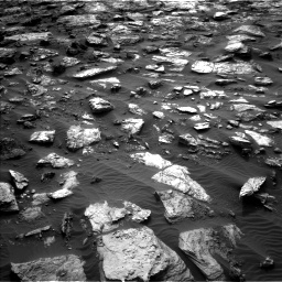 Nasa's Mars rover Curiosity acquired this image using its Left Navigation Camera on Sol 1482, at drive 1530, site number 58