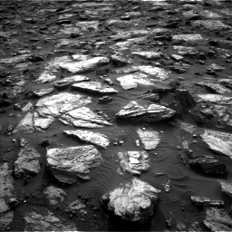 Nasa's Mars rover Curiosity acquired this image using its Left Navigation Camera on Sol 1482, at drive 1560, site number 58