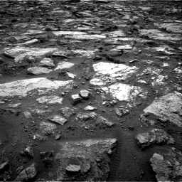 Nasa's Mars rover Curiosity acquired this image using its Right Navigation Camera on Sol 1482, at drive 1266, site number 58