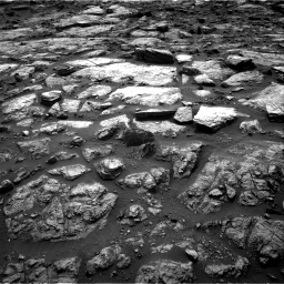 Nasa's Mars rover Curiosity acquired this image using its Right Navigation Camera on Sol 1482, at drive 1302, site number 58