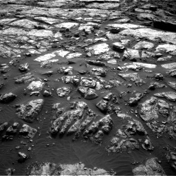 Nasa's Mars rover Curiosity acquired this image using its Right Navigation Camera on Sol 1482, at drive 1314, site number 58