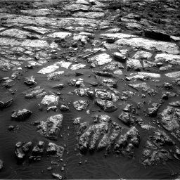 Nasa's Mars rover Curiosity acquired this image using its Right Navigation Camera on Sol 1482, at drive 1320, site number 58