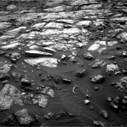 Nasa's Mars rover Curiosity acquired this image using its Right Navigation Camera on Sol 1482, at drive 1332, site number 58