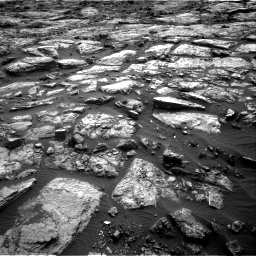 Nasa's Mars rover Curiosity acquired this image using its Right Navigation Camera on Sol 1482, at drive 1344, site number 58