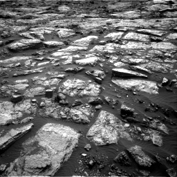 Nasa's Mars rover Curiosity acquired this image using its Right Navigation Camera on Sol 1482, at drive 1350, site number 58