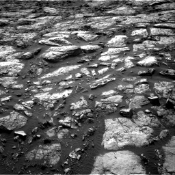 Nasa's Mars rover Curiosity acquired this image using its Right Navigation Camera on Sol 1482, at drive 1374, site number 58