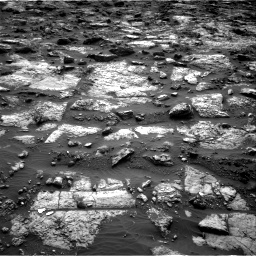 Nasa's Mars rover Curiosity acquired this image using its Right Navigation Camera on Sol 1482, at drive 1440, site number 58