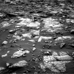 Nasa's Mars rover Curiosity acquired this image using its Right Navigation Camera on Sol 1482, at drive 1446, site number 58