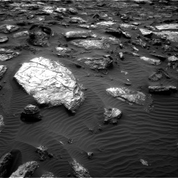 Nasa's Mars rover Curiosity acquired this image using its Right Navigation Camera on Sol 1482, at drive 1482, site number 58