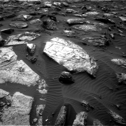 Nasa's Mars rover Curiosity acquired this image using its Right Navigation Camera on Sol 1482, at drive 1488, site number 58