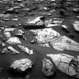 Nasa's Mars rover Curiosity acquired this image using its Right Navigation Camera on Sol 1482, at drive 1500, site number 58