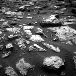 Nasa's Mars rover Curiosity acquired this image using its Right Navigation Camera on Sol 1482, at drive 1506, site number 58