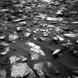 Nasa's Mars rover Curiosity acquired this image using its Right Navigation Camera on Sol 1482, at drive 1530, site number 58