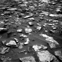 Nasa's Mars rover Curiosity acquired this image using its Right Navigation Camera on Sol 1482, at drive 1536, site number 58