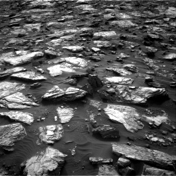 Nasa's Mars rover Curiosity acquired this image using its Right Navigation Camera on Sol 1482, at drive 1554, site number 58