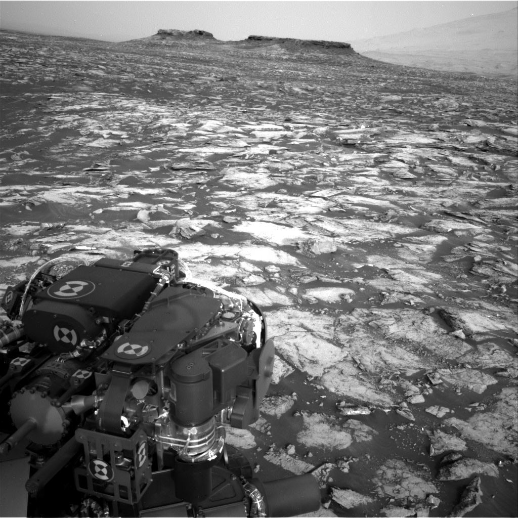 Nasa's Mars rover Curiosity acquired this image using its Right Navigation Camera on Sol 1482, at drive 1572, site number 58