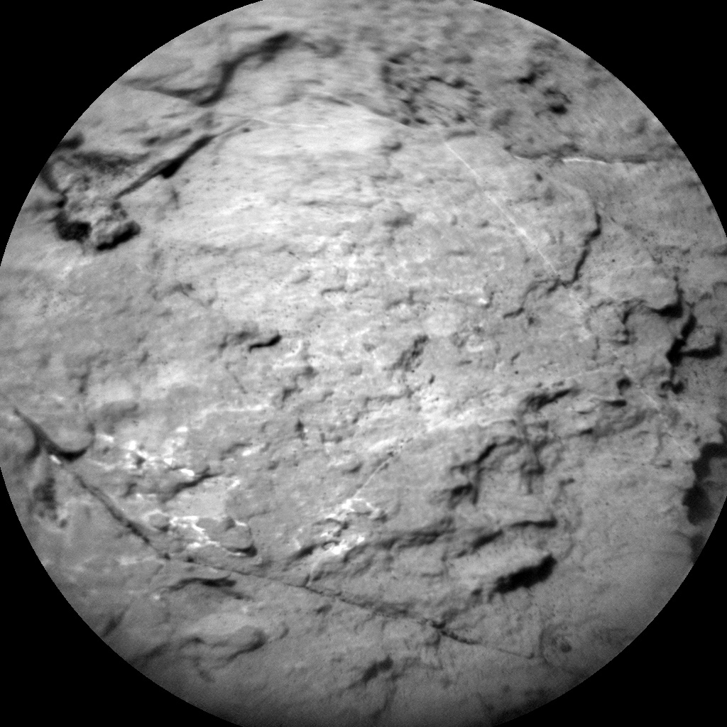 NASA's Mars rover Curiosity acquired this image using its Chemistry & Camera (ChemCam) on Sol 1482