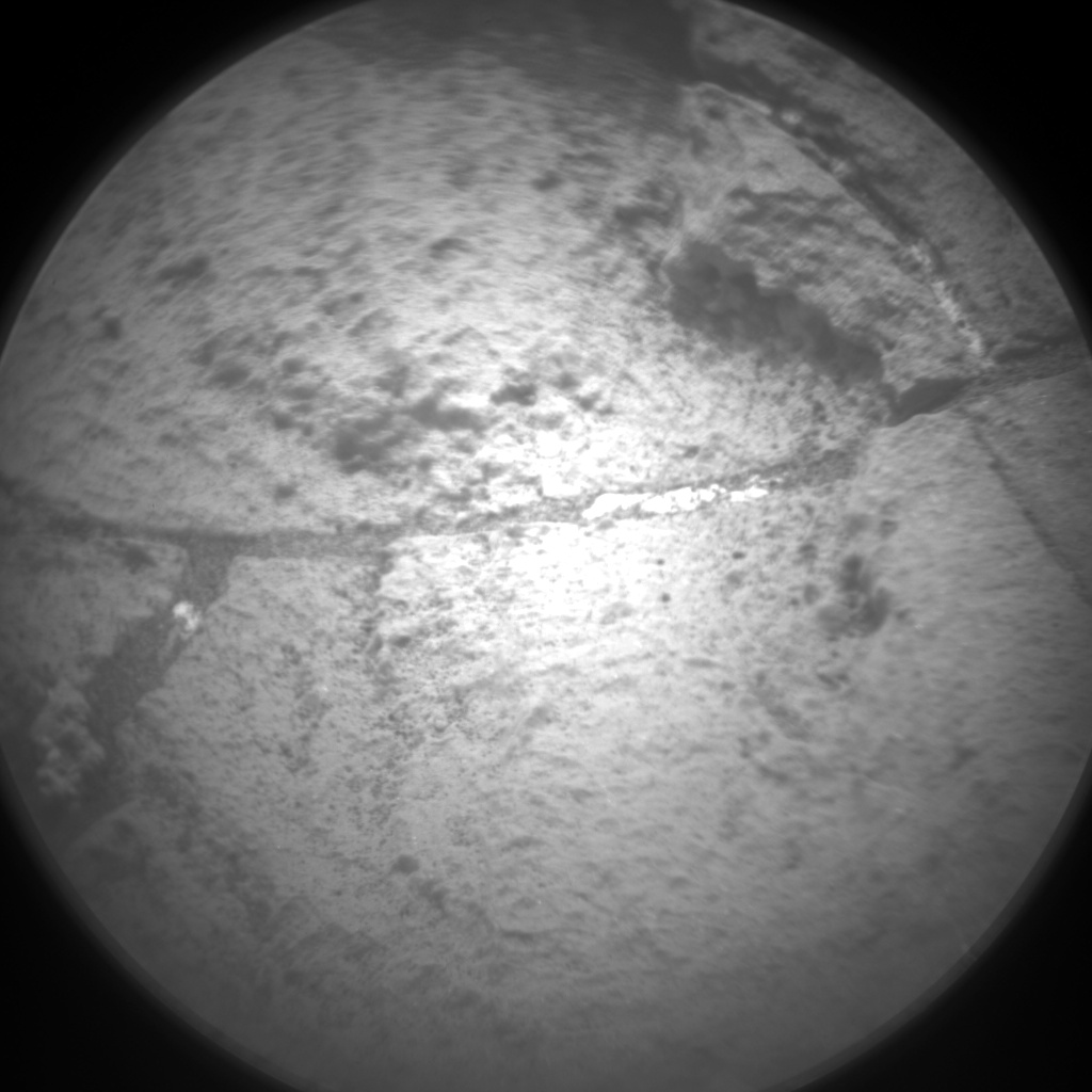 Nasa's Mars rover Curiosity acquired this image using its Chemistry & Camera (ChemCam) on Sol 1483, at drive 1572, site number 58