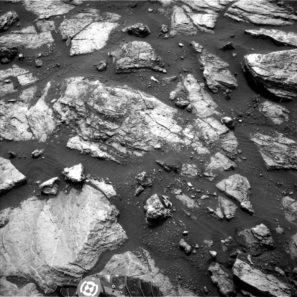 Nasa's Mars rover Curiosity acquired this image using its Left Navigation Camera on Sol 1483, at drive 1572, site number 58