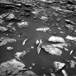 Nasa's Mars rover Curiosity acquired this image using its Left Navigation Camera on Sol 1485, at drive 1620, site number 58
