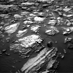 Nasa's Mars rover Curiosity acquired this image using its Left Navigation Camera on Sol 1485, at drive 1770, site number 58