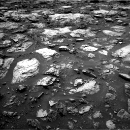 Nasa's Mars rover Curiosity acquired this image using its Left Navigation Camera on Sol 1485, at drive 1788, site number 58